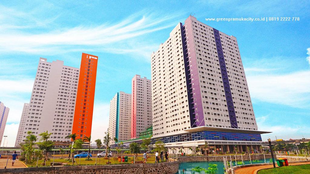 Penghargaan rumah123 untuk Green Pramuka City 7