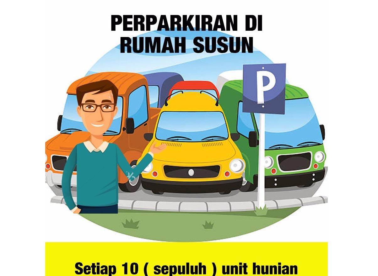 Zona dan regulasi Parkir di Apartemen Green Pramuka City
