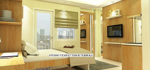 tipe studio green pramuka city