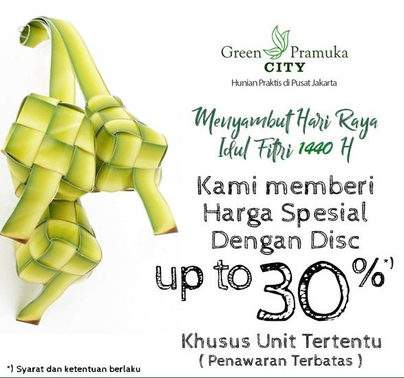 Promo Ramadhan Apartemen Green Pramuka City 3