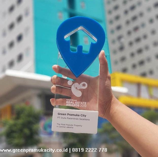 Penghargaan rumah123 untuk Green Pramuka City 4
